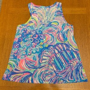 EUC Lilly Pulitzer top